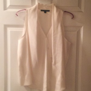 Lafayette 148 New York Top Off white