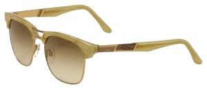 Cazal CAZAL 9050 Sunglasses WAYFARER (003) Horn Gold AUTHENTIC New