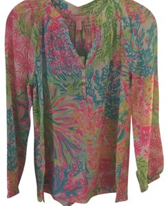 Lilly Pulitzer Top Lover's coral