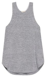 Wilfred Racer-back Cotton Casual Top Gray