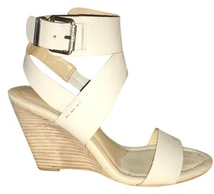 Calvin Klein Bone / Ivory Pumps