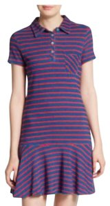 Kensie short dress Purple radar love Polo Drop Waist Cotton on Tradesy