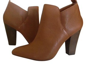 Steve Madden Ankle Leather Heeled Natural Boots