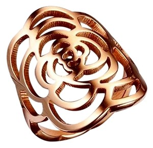 Other Mosaic Rose Ring 18k Rose Gold Plated