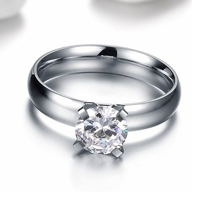1 Carat Round Brilliant Solitaire Ring