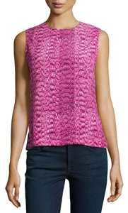 Equipment Animal Print Top Pink Reptile
