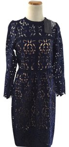 Zara Laser Cut Lace Dress