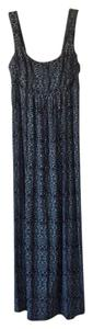 Navy blue/grey Maxi Dress by Other