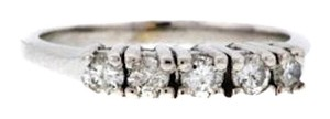 Other BELOW WHOLESALE 14k Gold 2/5 ct 5 stone diamond band