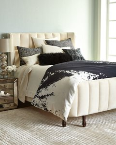 Donna Karan Midnight Coverlet European Sham