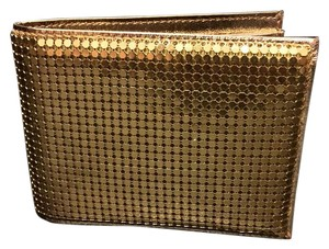 Other Duramesh Gold Metal Mesh Wallet Bifold
