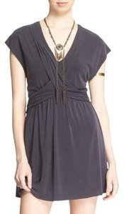 Free People short dress Slate Grey on Tradesy
