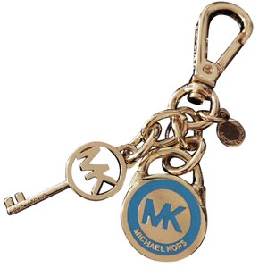Michael Kors MICHAEL KORS 24K Gold Key Locket Bag Charm