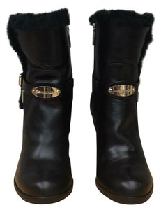 Michael Kors Black /leather Boots