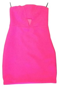 Express short dress Hot Pink on Tradesy
