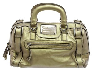 Dolce&Gabbana Satchel in Gold