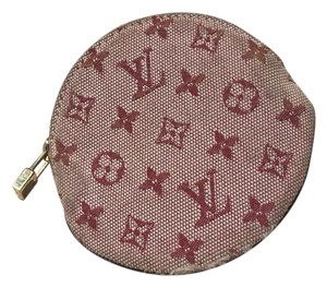 Louis Vuitton Wristlet in pink and burgundy