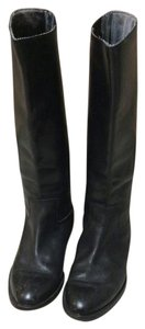 Italian Leather Boot Co Black Boots