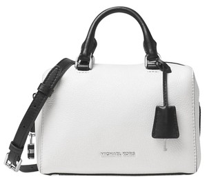 Michael Kors Kors Mk 190049472378 White Nwt Satchel in White/Black