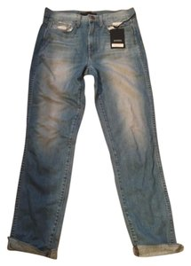 Genetic Denim Boyfriend Cut Jeans-Distressed