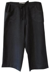 Max Studio Capris Navy Blue