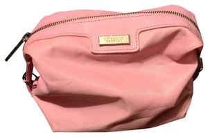 Versace Versace Pink Nylon Parfums Cosmetic Pouch Case