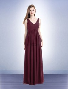 Bill Levkoff Wine Bridesmaid Dress Style 730 Dress