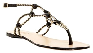 SCHUTZ Black/gold Sandals