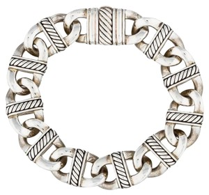 David Yurman Madison Silver Chain Link Bracelet
