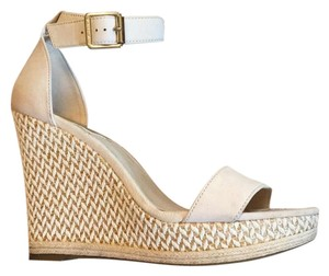 Vince Camuto Nude Sandal Wedges