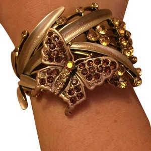 Charming Charlie Womens Butterfly Bracelet
