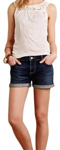 Paige Denim Mini/Short Shorts Blue