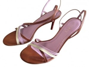 Ralph Lauren Multi colored - brown, purple, green Sandals