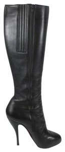 Christian Louboutin Knee High 120 Feticha Black Boots
