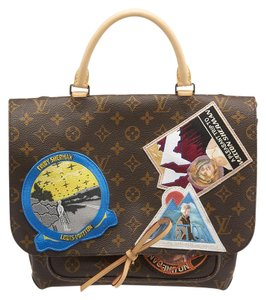 Louis Vuitton Lv Cindy Monogram Tote in Brown Multicolor