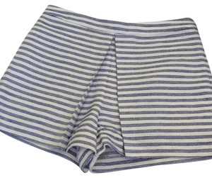 BCBGeneration Dress Shorts Blue and White