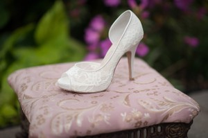 Angela Nuran Lace Exclusive Serafina High Heel Wedding Shoe Wedding Shoes