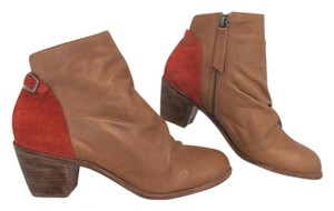 Matisse Genuine Leather Suede Buckle Western Distressed Tan Boots
