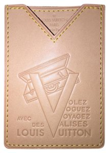 Louis Vuitton 25 off code25 Louis Vuitton vachetta Voyages card holder