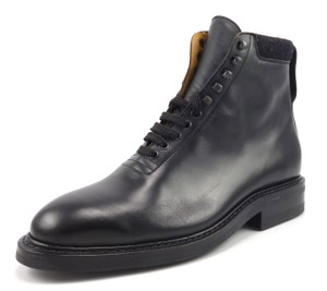 Louis Vuitton Leather Lace Up Ankle Boots