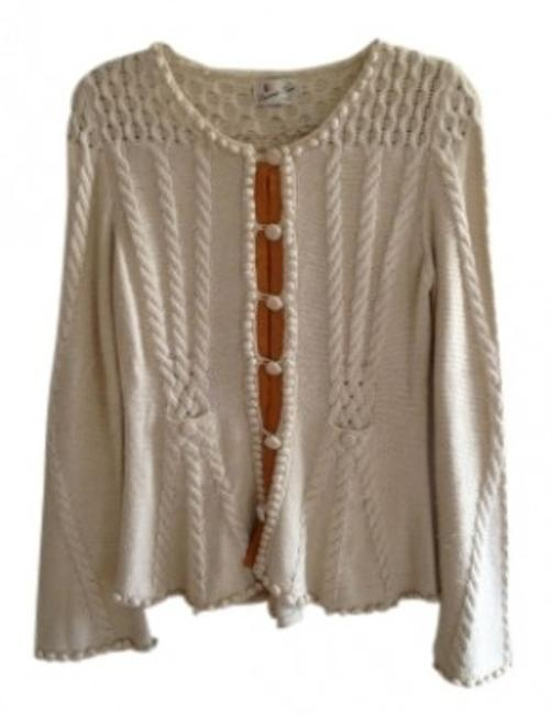Preload https://img-static.tradesy.com/item/19150/anthropologie-cream-cable-knit-cardigan-size-8-m-0-0-650-650.jpg