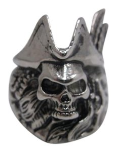 Other Skull Captain Stainless Steel Size 11 Free Shipping