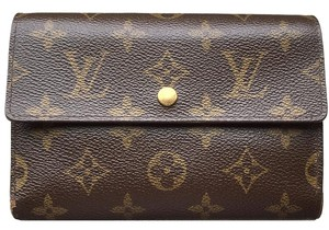 Louis Vuitton (SAME DAY SHIPPING) Long Wallet PVC Trifold Coin Case Mens Clutch