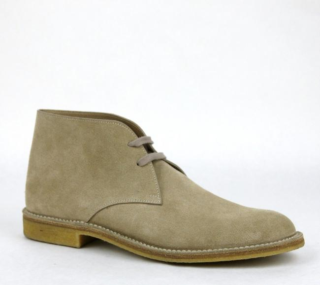 Item - Tan Mens Suede Lace-up Ankle Boot It 44 / Us 11 324637 2608 Shoes