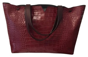 Vince Tote in Oxblood