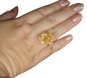 Dubai Gorgeous 22 K solid gold ring from Dubai size 8 excellent condition
