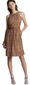 J.Crew short dress Shimmer Lawn Paisley Date Night Wedding on Tradesy