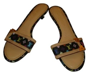 Louis Vuitton multi-color murakami Mules