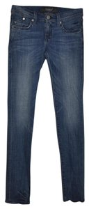Rock & Republic Ollie Skinny Casual Studded Embroidered Date Night Skinny Jeans-Distressed