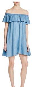 Rebecca Minkoff short dress Chambray on Tradesy